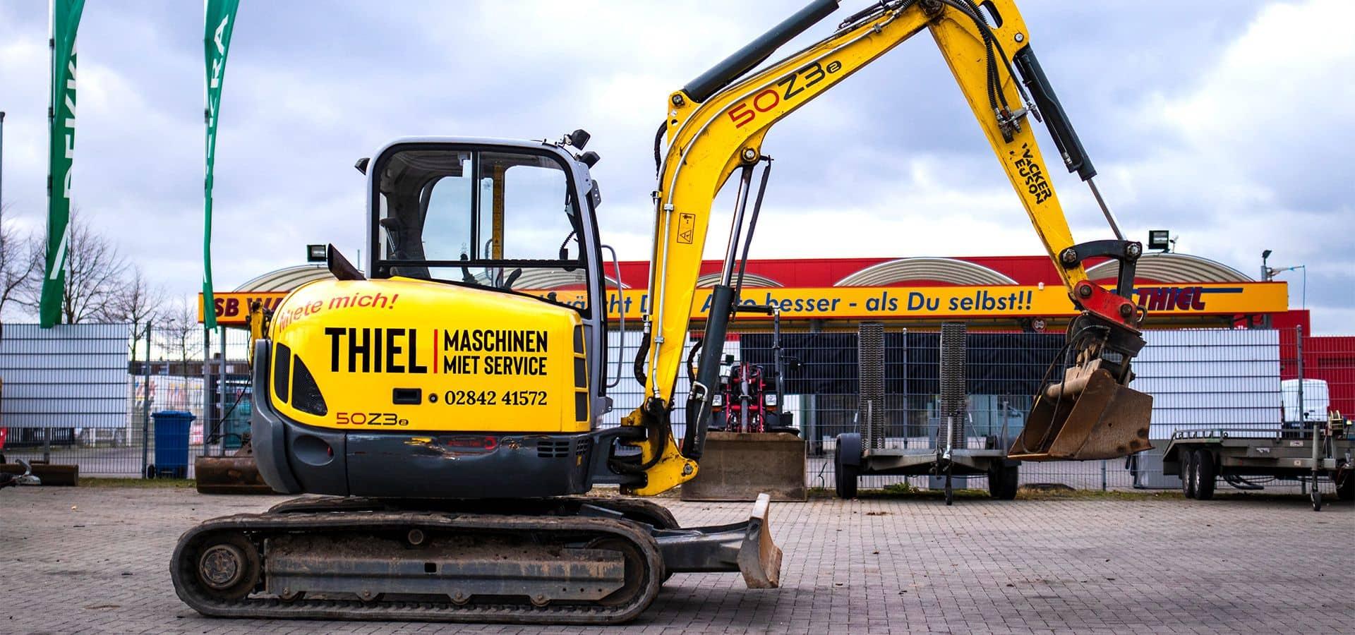 Vermietung von Maschinen, Werkzeugen und Zubehör für jeden Handwerksbedarf